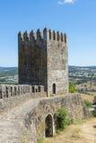 Slott av den Montemor nollan Novo, Alentejo, Portugal Arkivfoton