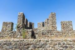 Slott av den Montemor nollan Novo, Alentejo, Portugal Arkivbilder