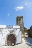 Slott av den Montemor nollan Novo, Alentejo, Portugal Royaltyfria Bilder