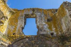 Slott av den Montemor nollan Novo, Alentejo, Portugal Fotografering för Bildbyråer