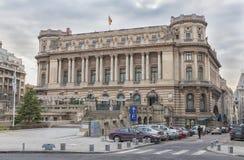 Slott av den nationella militära cirkeln, Bucharest Fotografering för Bildbyråer