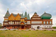 Slott av den ryska tsar Alexey Mikhailovich i Moskva Royaltyfri Bild