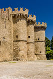 Slott av den storslagna förlagen av riddarna Arkivbild