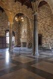 Slott av den storslagna förlagen, Rhodes Royaltyfri Bild