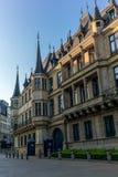 Slott av den storslagna hertigdömet av Luxembourg Arkivbild