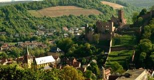 Slott av den sydliga Tysklandet Royaltyfria Bilder