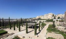 Slott av den Umayyad kalifatborggården Arkivbild