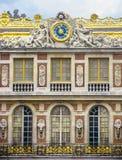 Slott av den Versailles detaljen Royaltyfria Foton