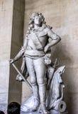 Slott av den Versailles Louis XIV statyn Royaltyfri Fotografi