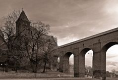 Slott av det Teutonic Royaltyfri Foto