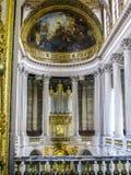 Slott av det Versailles kunglig personkapellet Royaltyfri Foto