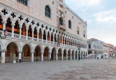Slott av dogar, Venedig, Italien Royaltyfri Fotografi