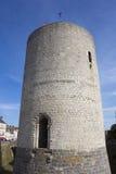 Slott av Dourdan, Essonne Arkivfoton