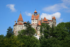 Slott av Dracula Arkivbild