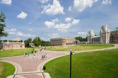 Slott av drottningen Ekaterina Second Great royaltyfri foto