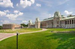Slott av drottningen Ekaterina Second Great royaltyfri fotografi