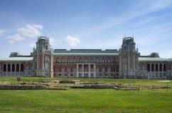Slott av drottningen Ekaterina Second Great royaltyfria foton
