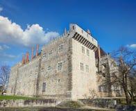 Slott av Duques de Braganca Fotografering för Bildbyråer