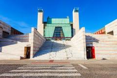 Slott av festivaler i Santander royaltyfri bild