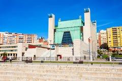 Slott av festivaler i Santander royaltyfria foton