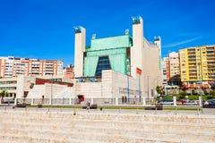 Slott av festivaler i Santander arkivbilder