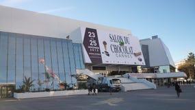 Slott av festivaler och konferenser, Cannes arkivbilder