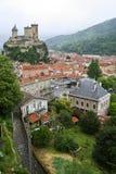 Slott av Foix Fotografering för Bildbyråer