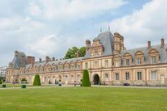 Slott av Fontainebleau i Frankrike Arkivfoton