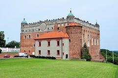 Slott av Golub-Dobrzyn, Polen Fotografering för Bildbyråer