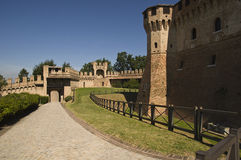 Slott av gradaraen Arkivfoton
