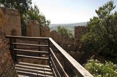 Slott av gradaraen Arkivfoto