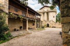 Slott av granadillaen Royaltyfri Fotografi