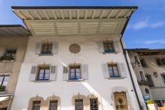 Slott av gruyère Arkivbilder