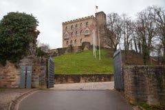 Slott av Hambach Royaltyfri Foto