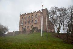 Slott av Hambach Arkivbild