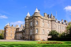 Slott av Holyroodhouse royaltyfri foto