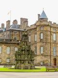 Slott av Holyroodhouse Edinburgh Skottland, UK fotografering för bildbyråer