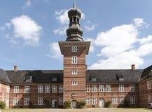 Slott av Husum, Schleswig Holstein, norr Tyskland royaltyfri fotografi