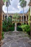 Slott av kaptengeneralen - havannacigarr, Kuba Arkivbilder