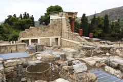 Slott av Knossos i Kreta royaltyfri foto