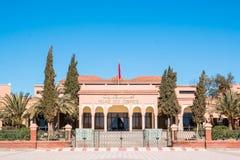 Slott av kongressen i Ouarzazate Marocko Arkivfoto