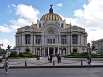 slott av konster, Mexiko - stad arkivfoto