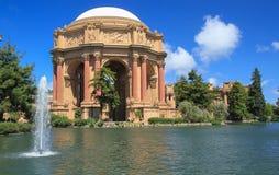 Slott av konster San Francisco, Kalifornien Royaltyfri Foto