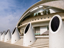 Slott av konster Valencia Spain Royaltyfri Bild