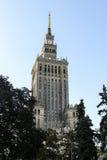 Slott av kultur arkivbild