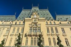 Slott av kultur i Iasi royaltyfria foton
