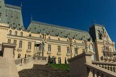 Slott av kultur i Iasi arkivfoton
