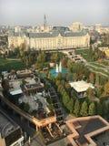 Slott av kultur i Iasi, Rumänien royaltyfri fotografi