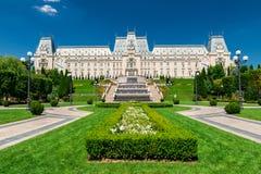 Slott av kultur i Iasi, Rumänien Royaltyfri Bild