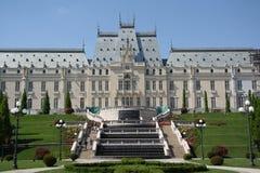 Slott av kultur i Iasi (Rumänien) Arkivbild